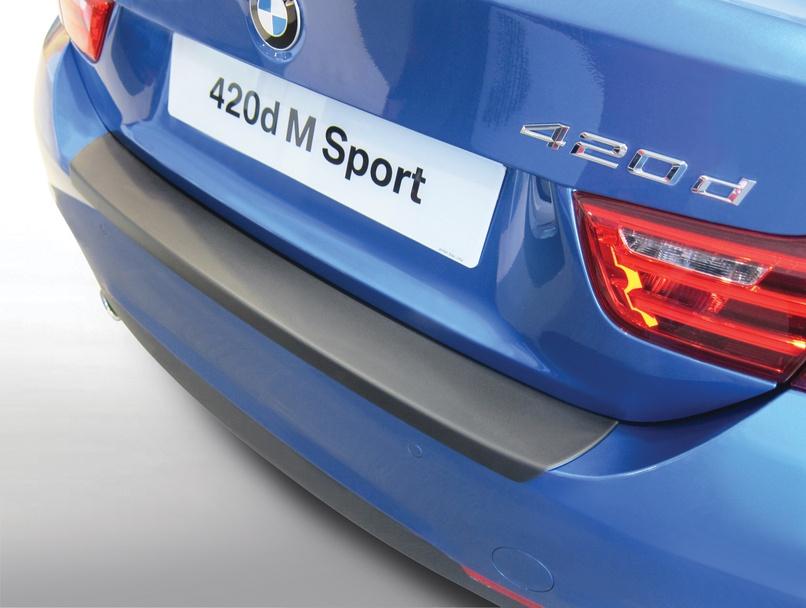 Накладка на задний бампер BMW 4 серии M Sport / M4, 2-дв. купе, кузов F32, 2013-2018