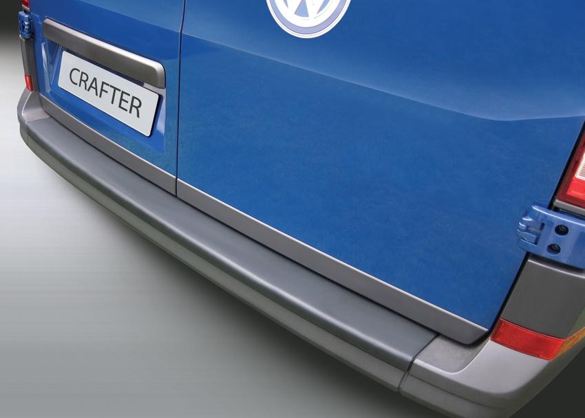 Накладка на задний бампер Volkswagen Crafter, 2017-н.в.