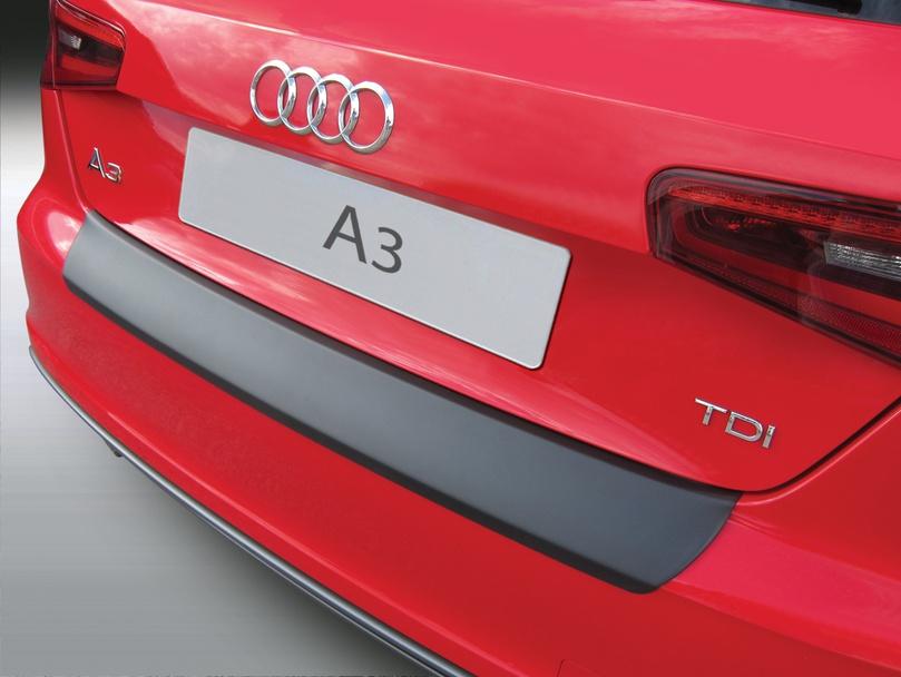 Накладка на задний бампер Audi A3 / S3, 3-дв. хэтчбек, 2012-2018