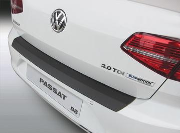 Накладка на заднй бампер Volkswagen Passat B8, 4-дв. седан, 2014-н.в.
