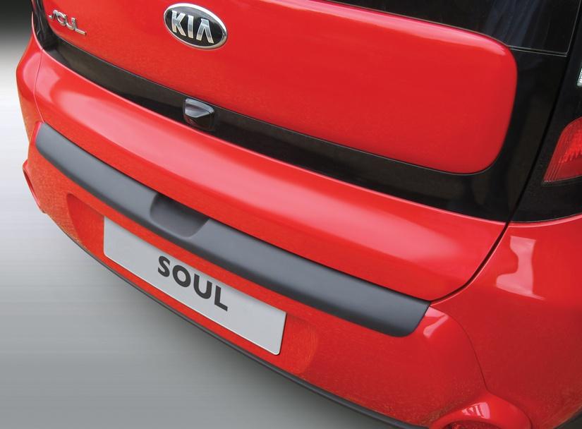 RBP943 накладка на задний бампер Kia Soul 2, Киа Соул 2