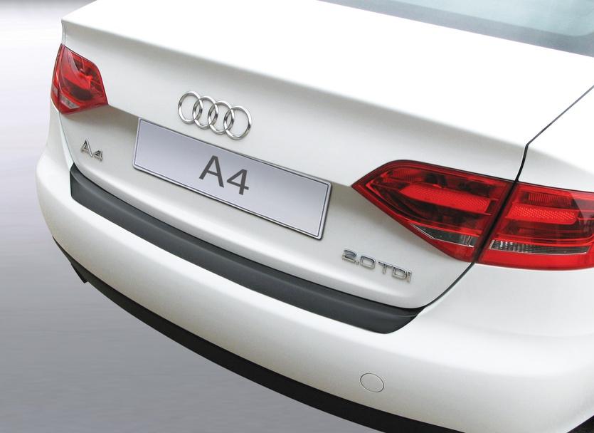 Накладка на задний бампер Audi A4, седан, 2012-2015