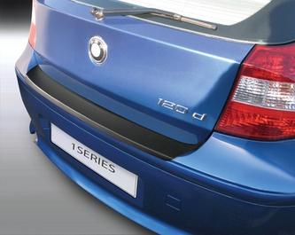 Накладка на задний бампер BMW 1 серии, 5-дв. хэтчбек, кузов E87, 2004-2007