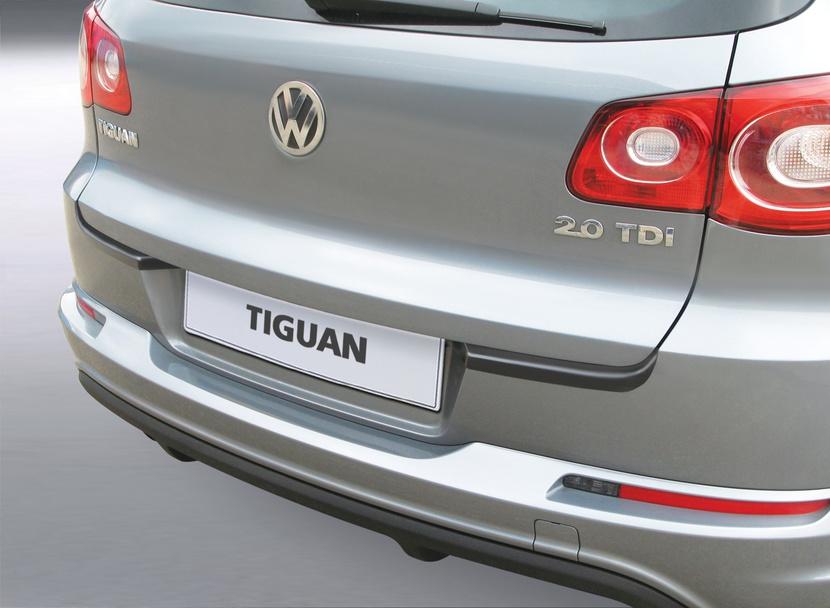 Накладка на задний бампер Volkswagen Tiguan 4X4, внедорожник, 2007-2016