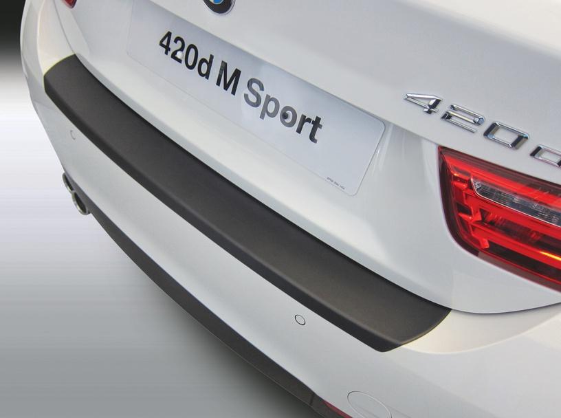 Накладка на задний бампер BMW 4 серии Gran Coupe M Sport, 5-дв. хэтчбек, кузов F36, 2014-н.в.
