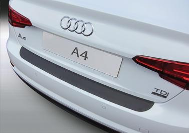 Накладка на задний бампер Audi A4, седан, 2015-2018