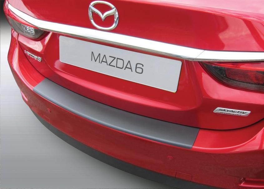 Накладка на задний бампер Mazda 6, седан, 2013-2018