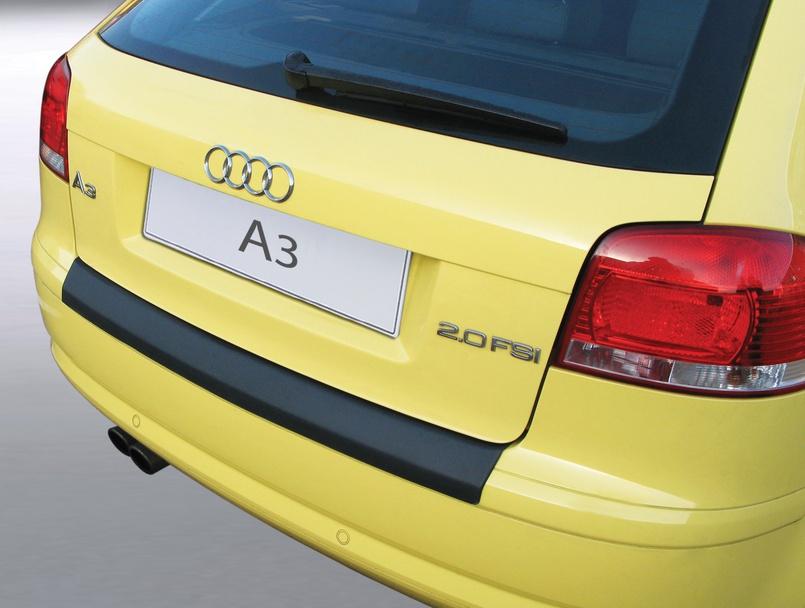 Накладка на задний бампер Audi A3, 3-дв. хэтчбек, 2003-2008