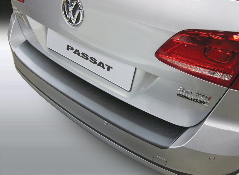 Накладка на задний бампер Volkswagen Passat B7 Variant Alltrack, универсал, 2010-2014