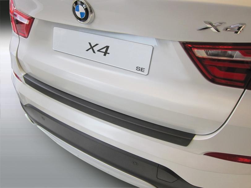 Накладка на задний бампер BMW X4, БМВ Х4, 2014 - 2018