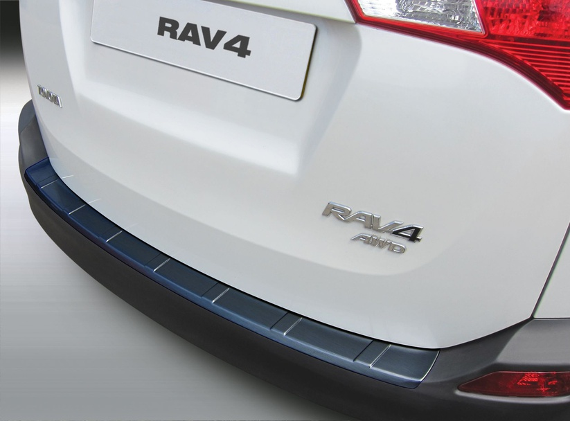 Накладка на задний бампер Toyota RAV 4, 2013-2016