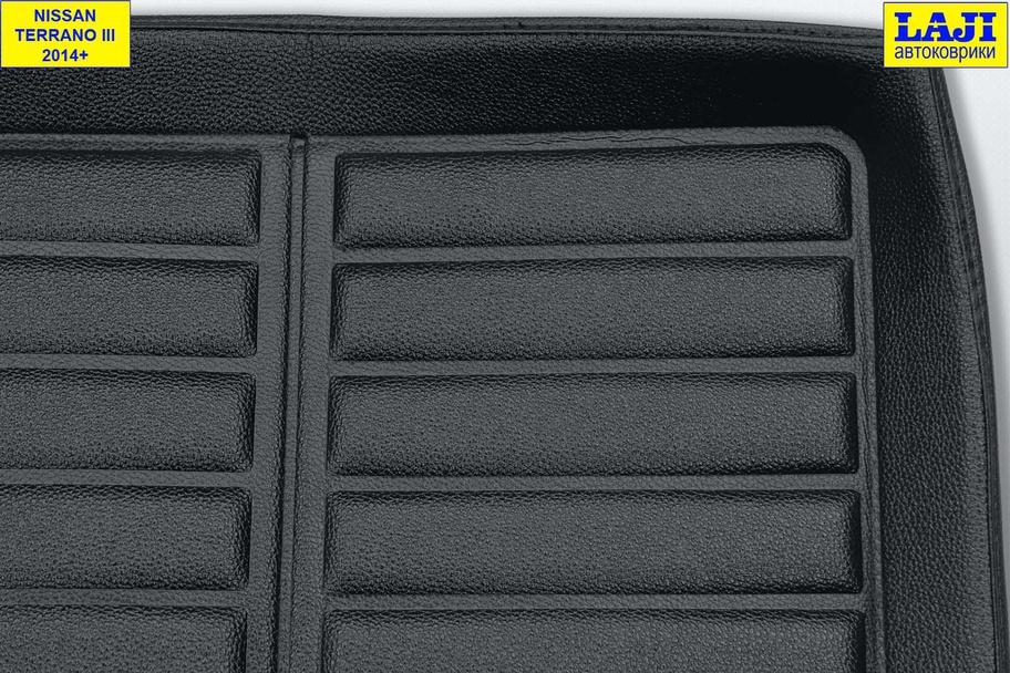 3D коврик в багажник Nissan Terrano D10 2010-н.в. 3