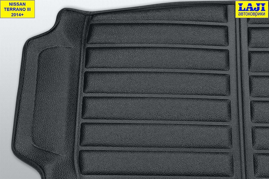 3D коврик в багажник Nissan Terrano D10 2010-н.в. 4