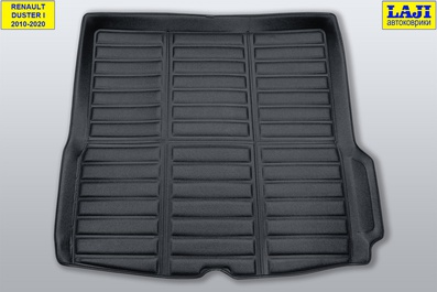 3D коврик в багажник Renault Duster 2010-2020 1