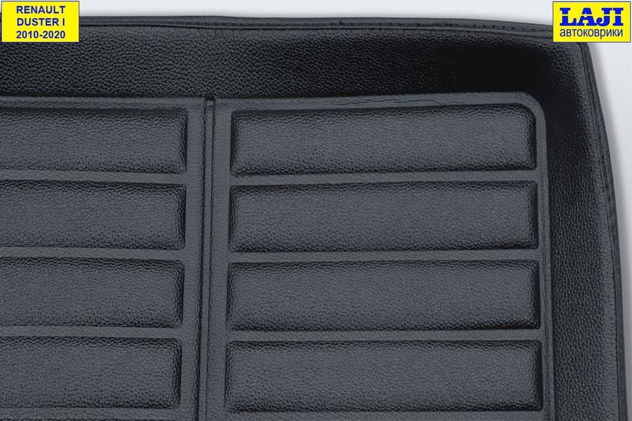 3D коврик в багажник Renault Duster 2010-2020 3