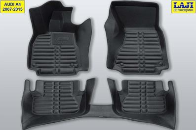 5D коврики для Audi A4 B8 2007-2015 1