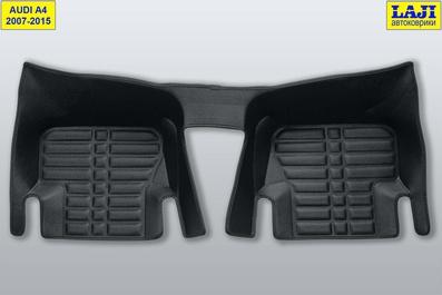 5D коврики для Audi A4 B8 2007-2015 9