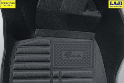 5D коврики для Audi A6 C7 2011-2018 7