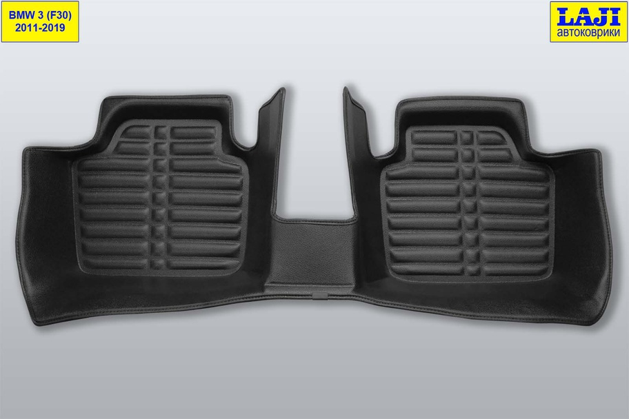 5D коврики в салон BMW 3 серии F30 2011-2018 10