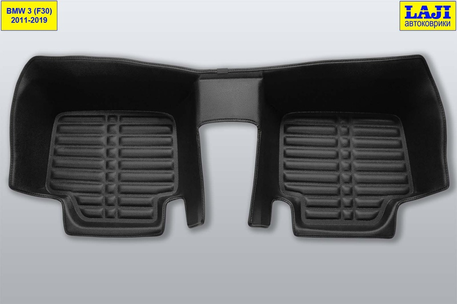 5D коврики в салон BMW 3 серии F30 2011-2018 9