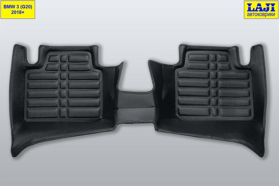 5D коврики в салон BMW 3 серии G20 2018-н.в. 10