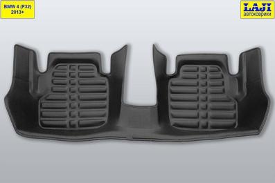 5D коврики в салон BMW 4 Coupe F32 2013-2020 10