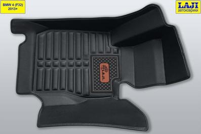 5D коврики в салон BMW 4 Coupe F32 2013-2020 2