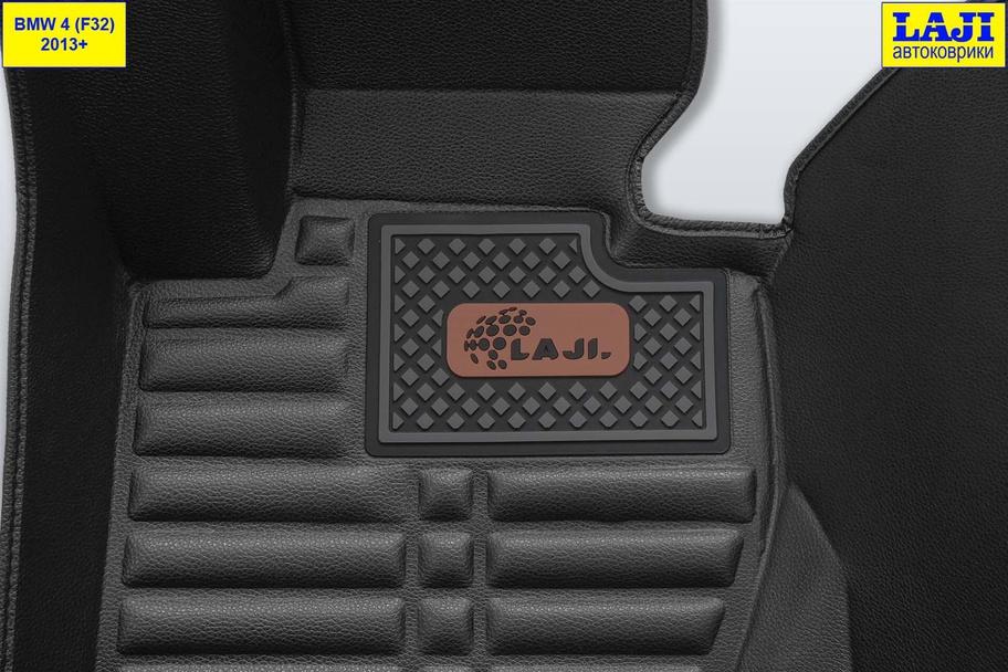 5D коврики в салон BMW 4 Coupe F32 2013-2020 7