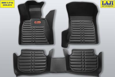 5D коврики в салон BMW 5 серии F10 2009-2013 1