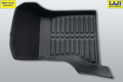 5D коврики в салон BMW 5 серии F10 2009-2013 5