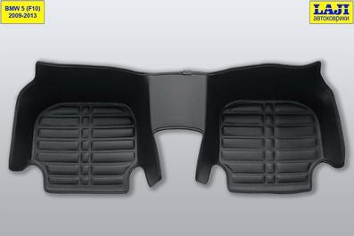 5D коврики в салон BMW 5 серии F10 2009-2013 9