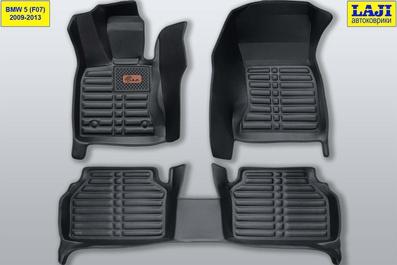 5D коврики в салон BMW 5 GT (F07) 2009-2013 1