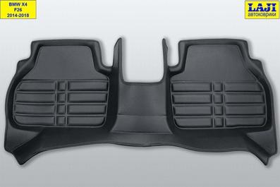 5D коврики в салон BMW X4 (F26) 2014-2018 10