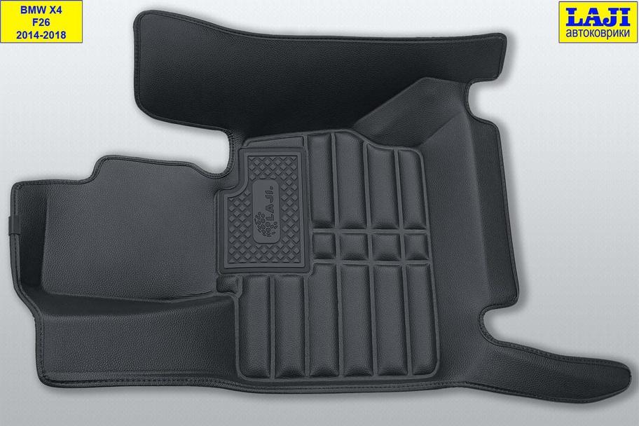 5D коврики в салон BMW X4 (F26) 2014-2018 3
