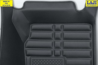 5D коврики в салон BMW X4 (F26) 2014-2018 8