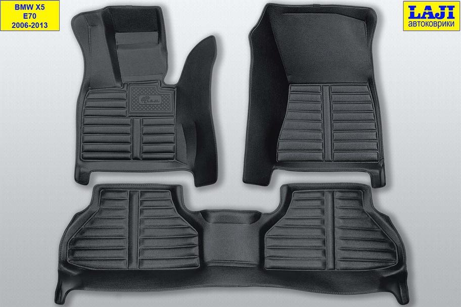 5D коврики в салон BMW X5 (E70) 2006-2013 1