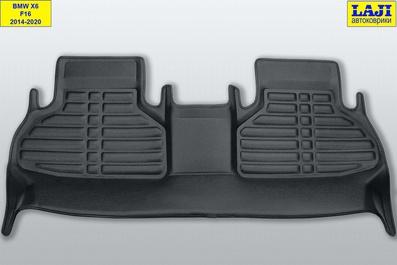 5D коврики в салон BMW X6 (F16) 2014-2020 10