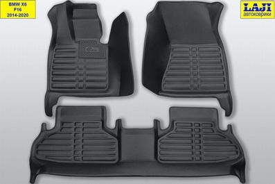 5D коврики в салон BMW X6 (F16) 2014-2020 1