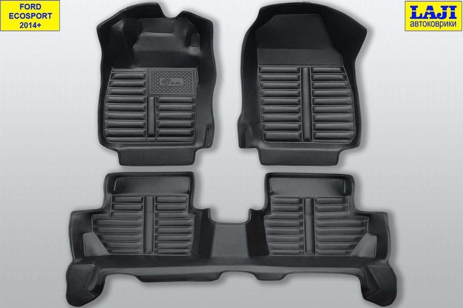 5D коврики в салон Ford Ecosport 2014-н.в. 1