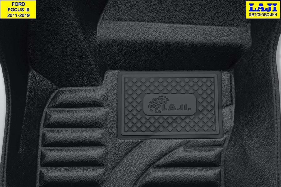 5D коврики в салон Ford Focus 3 2011-н.в. 7