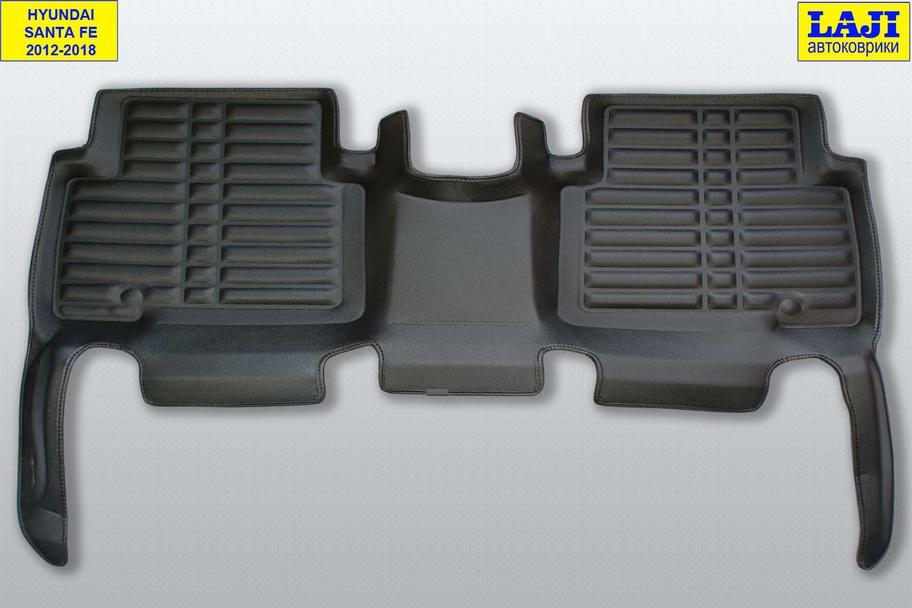 5D коврики в салон Hyundai Santa Fe 3 DM 2012-2018 10