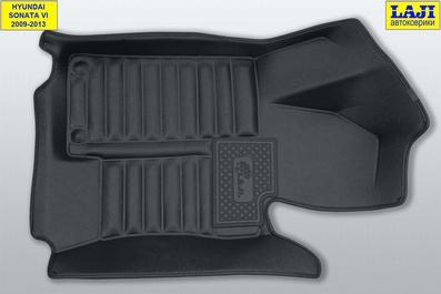 5D коврики в салон Sonata 6 2009-2013 2
