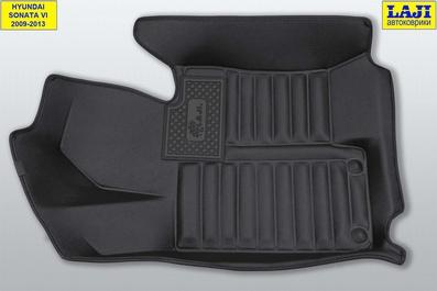 5D коврики в салон Sonata 6 2009-2013 3