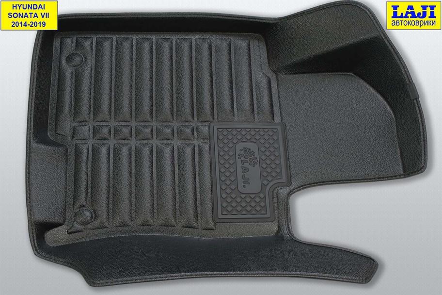 5D коврики в салон Hyundai Sonata 7 2014-2019 3