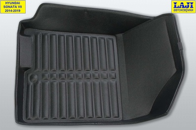 5D коврики в салон Hyundai Sonata 7 2014-2019 5
