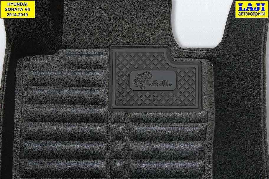 5D коврики в салон Hyundai Sonata 7 2014-2019 7