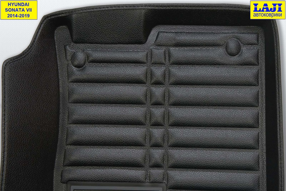 5D коврики в салон Hyundai Sonata 7 2014-2019 8
