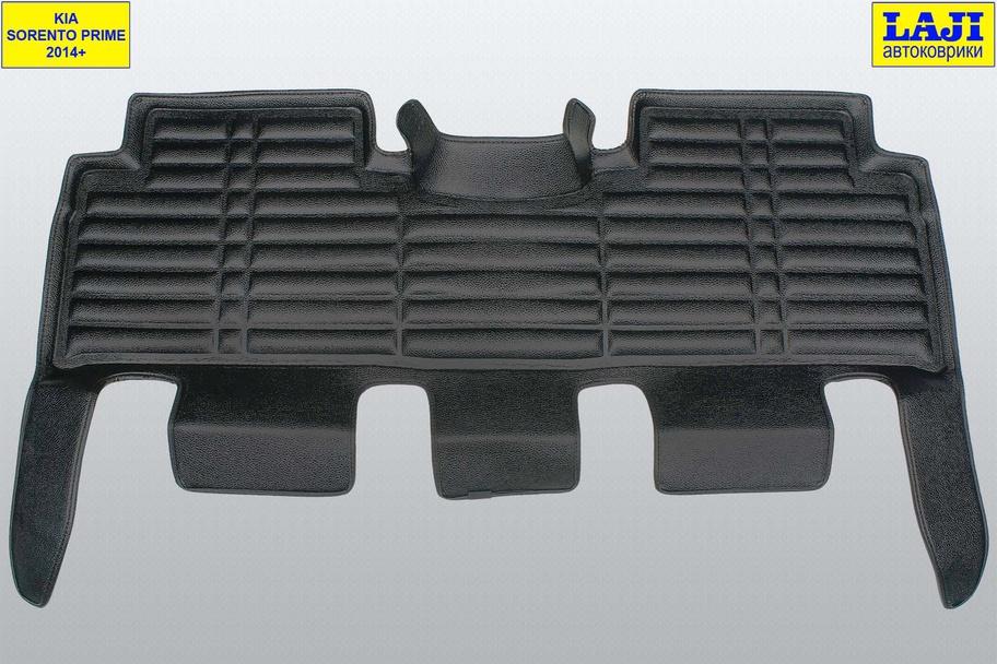 5D коврики в салон KIA Sorento Prime UM 2014-2020, 7 мест 10