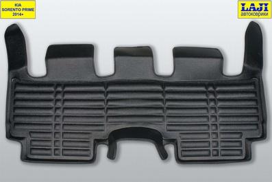 5D коврики в салон KIA Sorento Prime UM 2014-2020, 7 мест 9