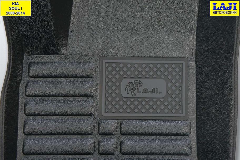 5D коврики в салон KIA Soul 1 2008-2014 7